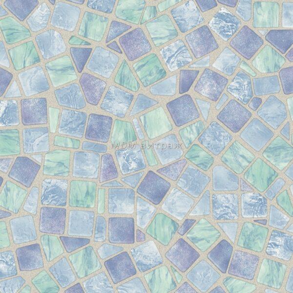 2803217 alkor кафель мозаика голубая